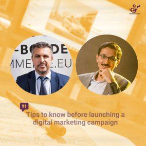 عوامل شکست کمپین بازاریابی دیجیتال- Soheil Aarabi & Mohamed Eldjendoubiل