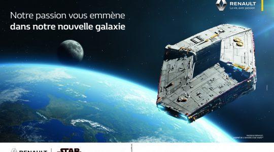 Diamond Spaceship 2- Renault & Star Wars partnership